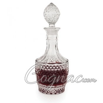 Traditional French Lead-Free Crystal Decanter