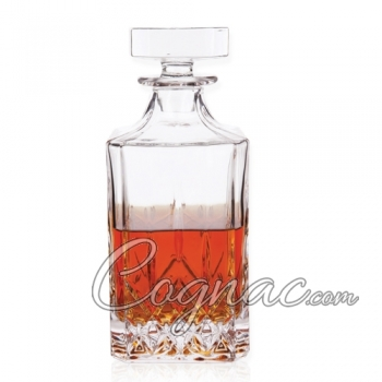 Classic Cut Glass Liquor Decanter